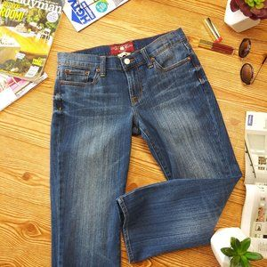 LUCKY BRAND crop jeans size 6/28